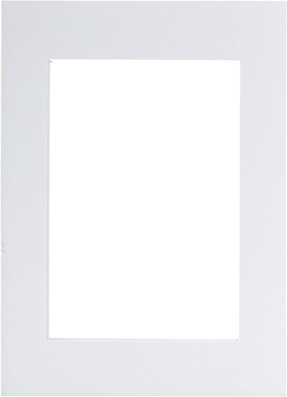 Paspart/ú para Marcos multifoto 40 x 50 cm Walther PA051W Color Blanco