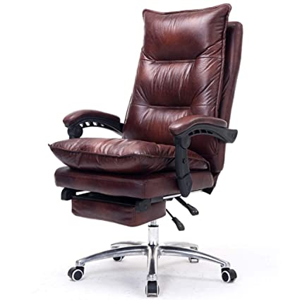 Tremendous Amazon Com Chairs Sofas Leather Computer Chair Home Office Machost Co Dining Chair Design Ideas Machostcouk