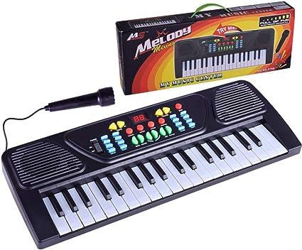 XGLL Teclado Piano eléctrico Digital de 37 Teclas / 61 Teclas ...