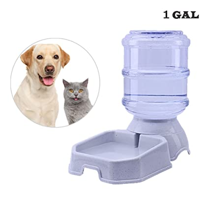 Septree Automatic Water Dispenser,Dog Bowl,Cat Waterer,Dog Water Fountain,Automatic