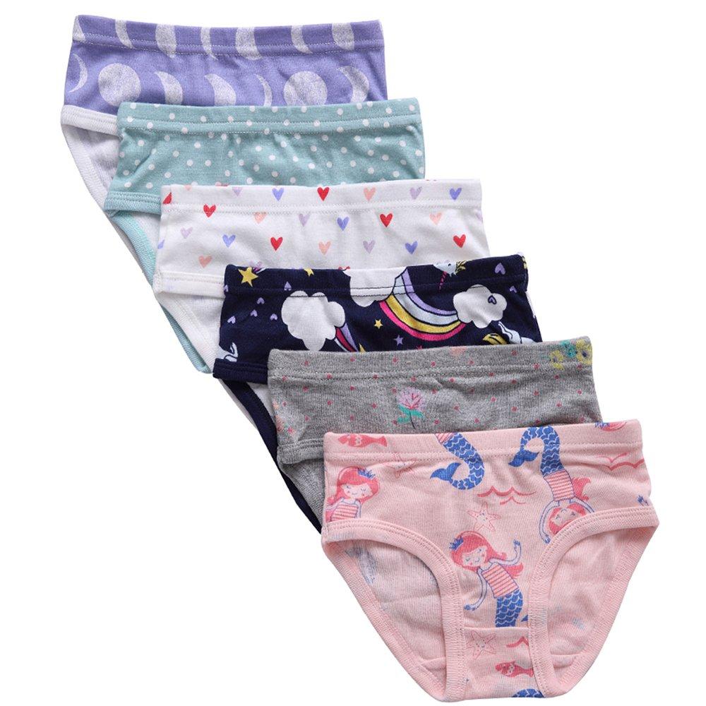 The Kite Girls Underwear 6-Pack 4t 5