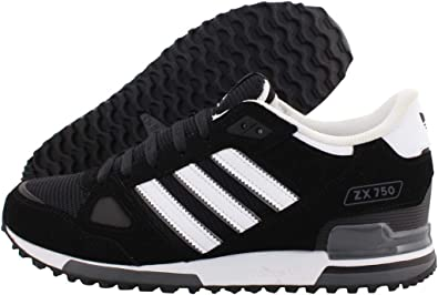Turismo Roux Muerto en el mundo  adidas Zx 750 Zapatillas deportivas para hombre, Negro (Negro), 42 EU:  Amazon.es: Zapatos y complementos