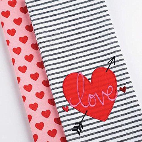 DII Kitchen Dish Towel Valentines
