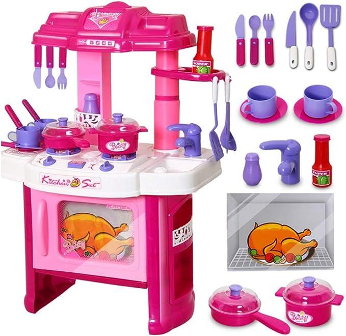 Kitchenset Velocidad Juguetes Deluxe Belleza Juego de Cocina ...