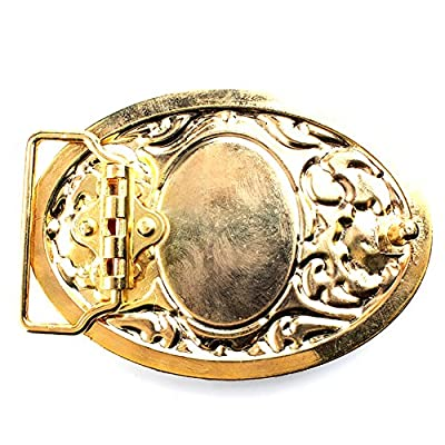 Belt buckle, Western cowboy Turquoise Stone belt buckle for leather belts …