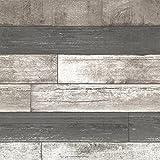 Brewster 2686-20198 Dustin Grey Wood Wallpaper