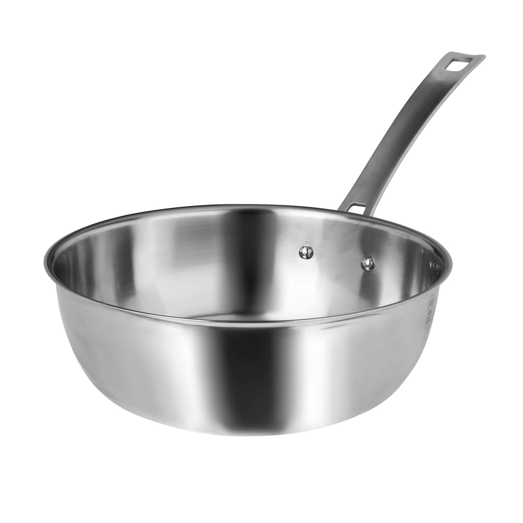 Sitram 712302 HORECA - R Stainless Steel Cookware, 24 cm - 9.45 in Conical Sauteuse