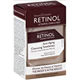 Skincare Retinol Anti-Aging Cleansing Towelettes 30 Count (2 Pack)