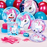 Enchanted Unicorn Party Supplies - Standard Party Pack for 8
