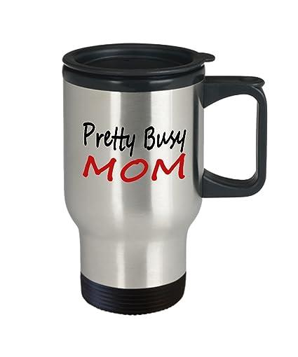 Amazon Busy Mom Travel Mug