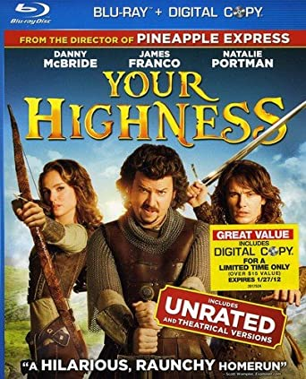 Your Highness 2011 BluRay 480p 300MB Dual Audio ( Hindi – English ) MKV