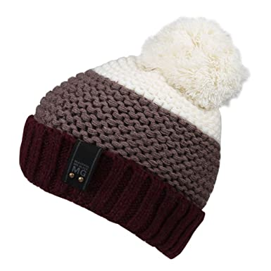 bfd054df76d Magic Zone Women Warm Winter Hat Chunky Soft Oversized Cable Knit Slouchy Beanie  Ski Baggy Hat Bobble Hat  Amazon.co.uk  Clothing