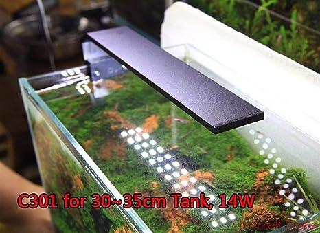 WML-LAMP Acuario con luz LED, Accesorio con Clip, a Prueba de Agua ...