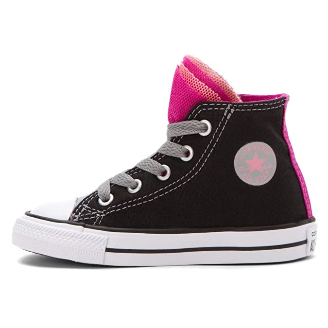 82f170fa73b2 Converse Chuck Taylor All Star Party Black Dolphin Plastic Pink (Infant  Toddler) (3 Infant M)  Amazon.co.uk  Shoes   Bags