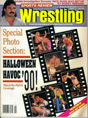 (Sports Review Wrestling : Halloween Havoc '90 Coverage (February)