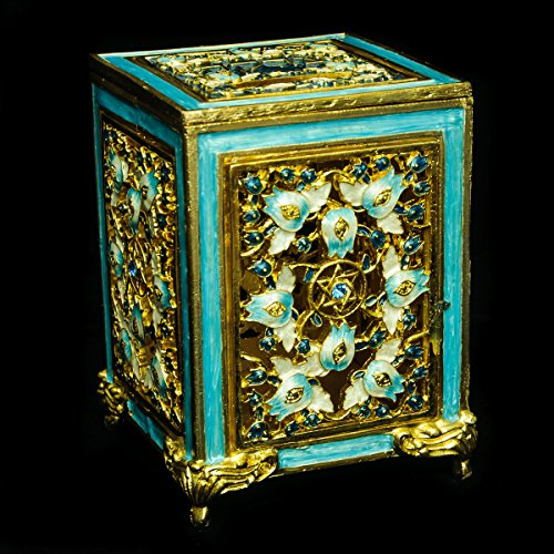 Tzedakah-Box-Jeweled