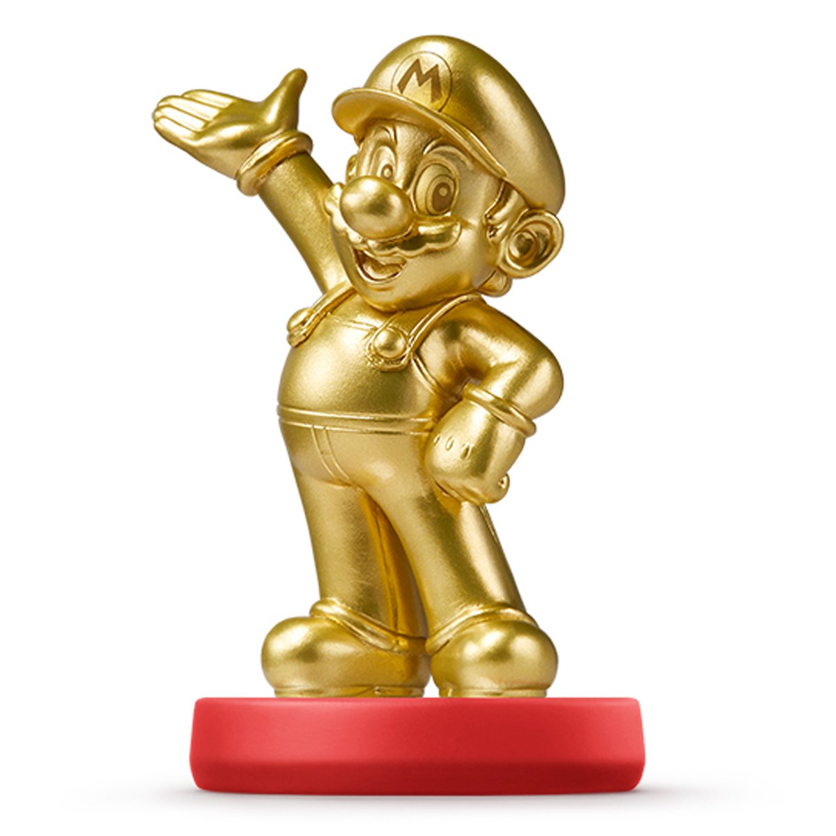NEW Amiibo Gold Mario Japan ver. Super Smash Bros Wii U 3DS Import