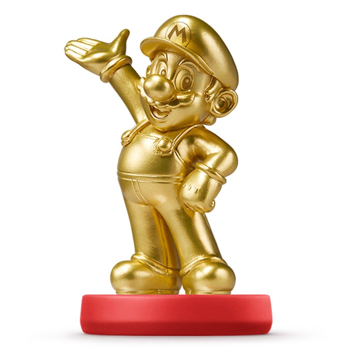 NEW Amiibo Gold Mario Japan ver. Super Smash Bros Wii U 3DS Import