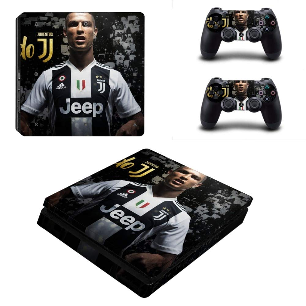 YISHO PS4 Slim Skin Sticker for Playstation 4 Console And Controllers Decal PS4 Slim Sticker Vinyl 12