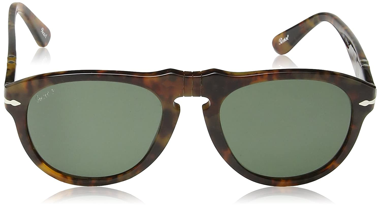 Persol PO0649 Sunglasses-108//58 Caffe Crystal Green Polarized Lens -52mm