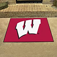 Fanmats Wisconsin Badgers All-Star Mat