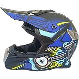 CFYBAO Casco Adulto Motocicleta Todoterreno Casco Fox Personalidad ... d0e412a0f24