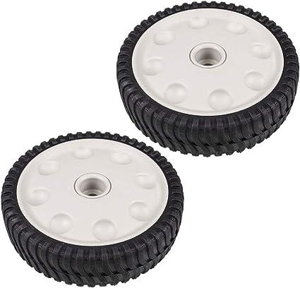 7 inch wheel  MTD number 734-04063B