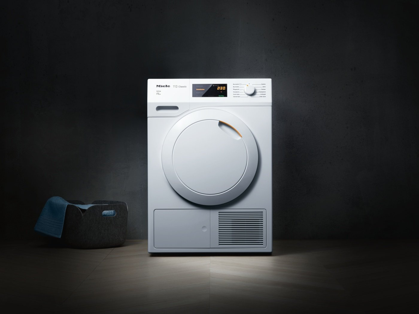 Miele tdb wp active wärmepumpentrockner mit geringem