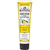 J.R. Watkins Lemon Cream Natural Moisturizing Hand Cream, Hydrating Hand Moisturizer with Shea Butter, Cocoa Butter, and…
