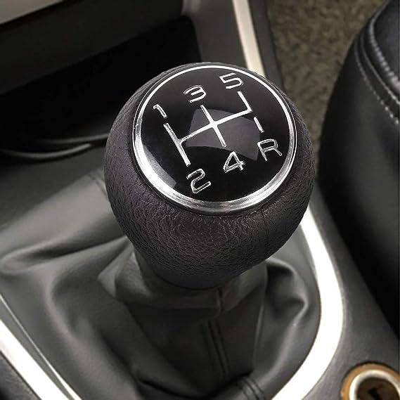 Universal 5 Gang Schaltgetriebe Schaltknauf Für Citroen C1 C3 C4 Für Peugeot 106 107 205 206 207 306 307 308 309 405 406 407 508 605 607 806 807 Chrom Baumarkt
