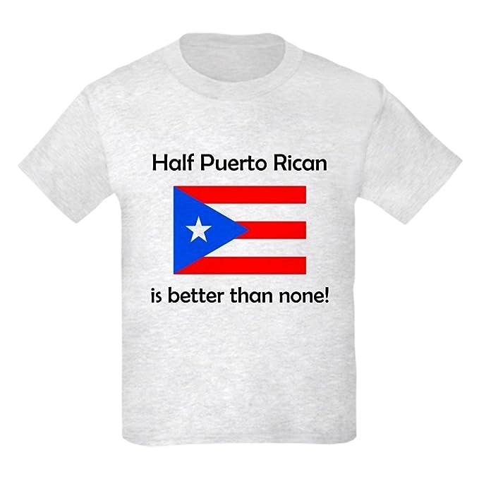 2f2225346 Amazon.com: CafePress - Half Puerto Rican T-Shirt - Kids Cotton T ...