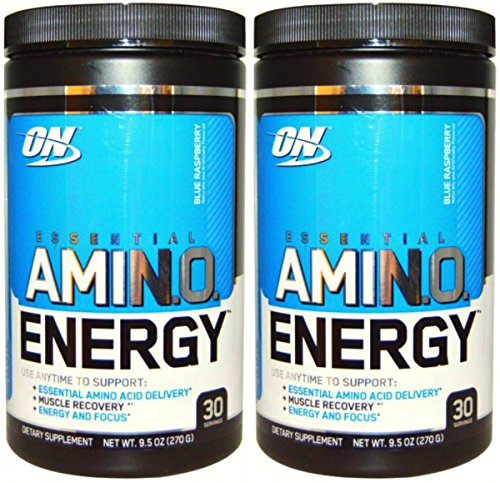 Optimum Nutrition Amino Energy, Blueberry Mojito 30S x 2 Pack