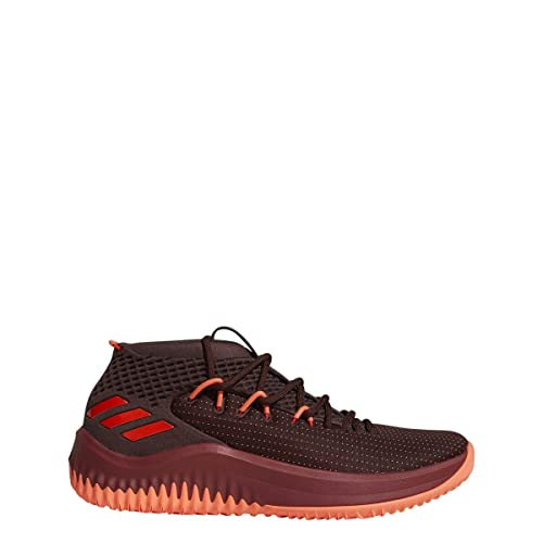 more photos fbae3 f07cc Adidas Dame 4 Shoe Men s Basketball 8 Night Red-Solar Red-Maroon