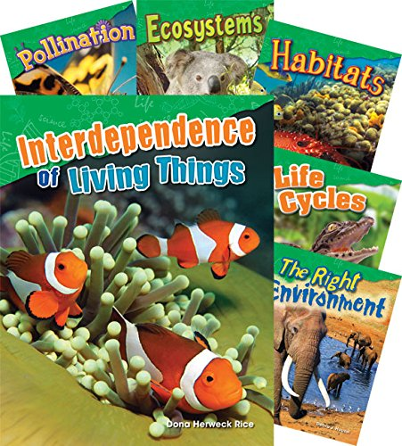 Teacher Created Materials - Science Readers: Content and Literacy: Let's Explore Life Science - 10 Book Set - Grades 2-3 by Teacher Created Materials