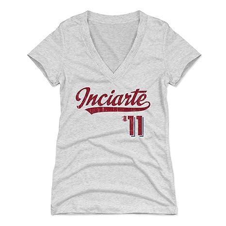 best service b2bcc 7e43f Amazon.com : 500 LEVEL Ender Inciarte Women's Shirt ...