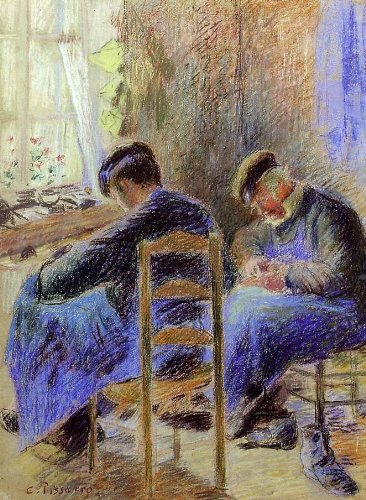 Art Oyster Camille Pissarro Shoemakers - 24.1