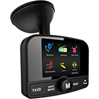 FirstE Car DAB+ Radio Adapter Bluetooth FM Transmitter, Portable DAB Digital Radio Tuner Car Bluetooth Receiver and SD…