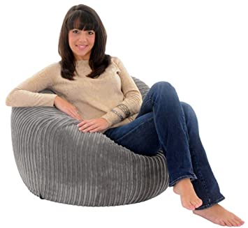 giant beanbag steel jumbo cord giant bean bag chair - Giant Bean Bag Chairs