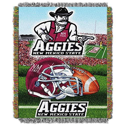 "New Mexico State Aggies NCAA Triple Woven Jacquard Throw (48""x60"")"
