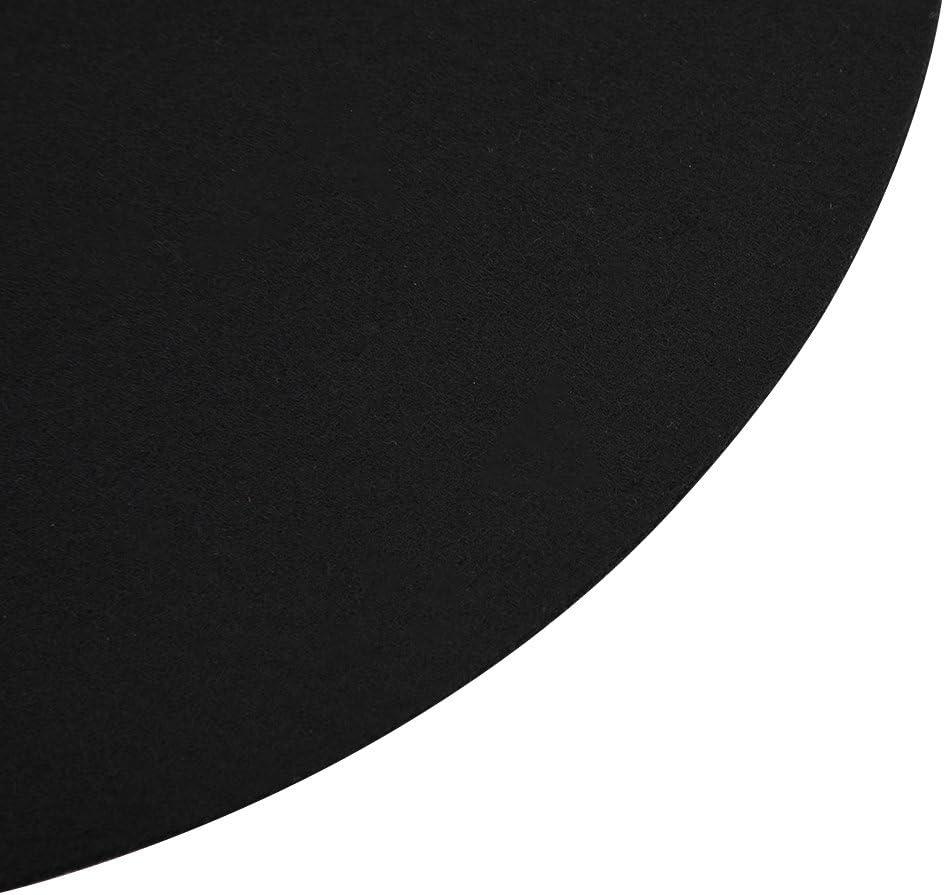 Protection Douce et Plate Antistatique de Tapis de Slipmat de Tapis de 1PCS pour Le Disque Propre Plateau denregistrement Ultra-Mince de Platine
