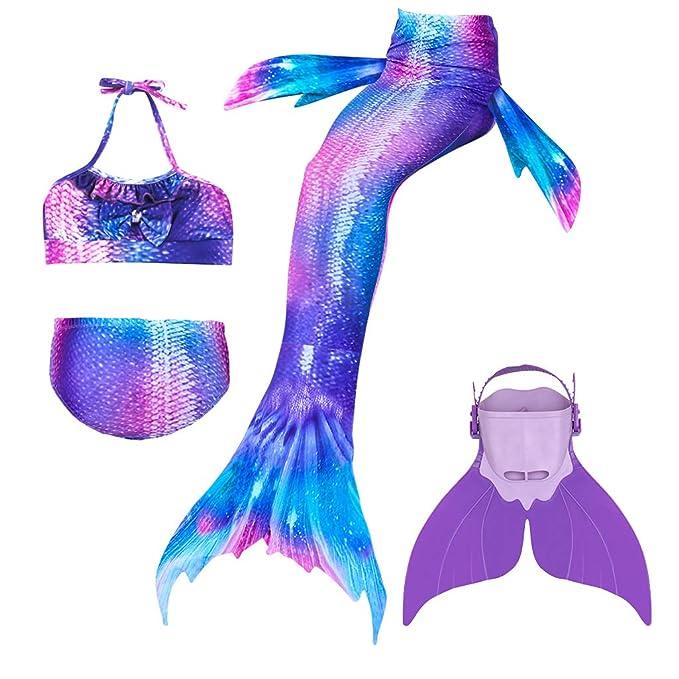 Amazon.com: BESTYLING - Bañador con cola de sirena para ...