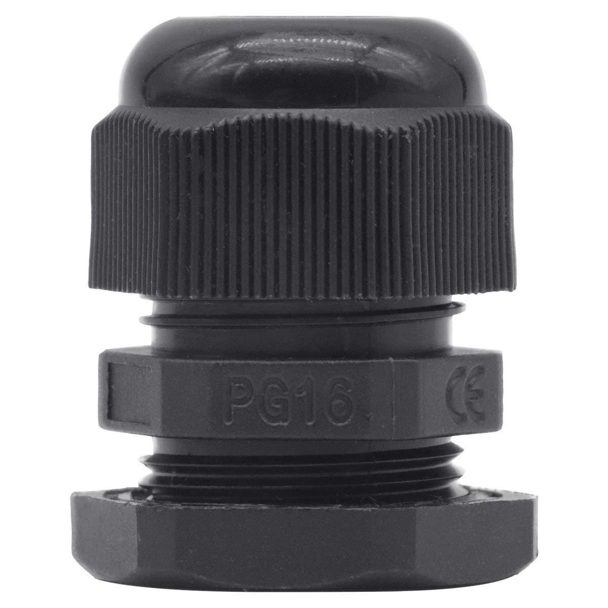 Joints de presse-/étoupe en nylon /étanches PG11 pour connecteurs de fils pour 5 /à 10 mm de fils paquet de 20