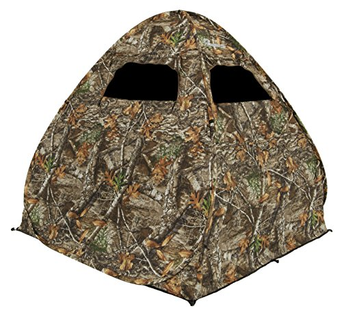 Ameristep Gunner Ground Blind Realtree Edge Frame Frame Ameristep Steel Hunting Blinds