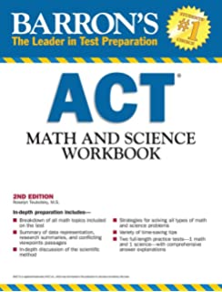 Amazon barrons act english reading and writing workbook 2nd barrons act math and science workbook 2nd edition barrons act math science workbook fandeluxe Images