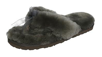 768625a5bf0 SLPR Women s Sheepskin Flip Flop Slippers (6