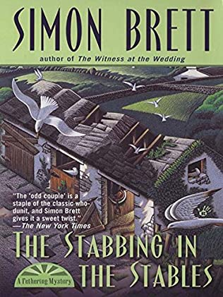 book cover of The Stabbing in the Stables