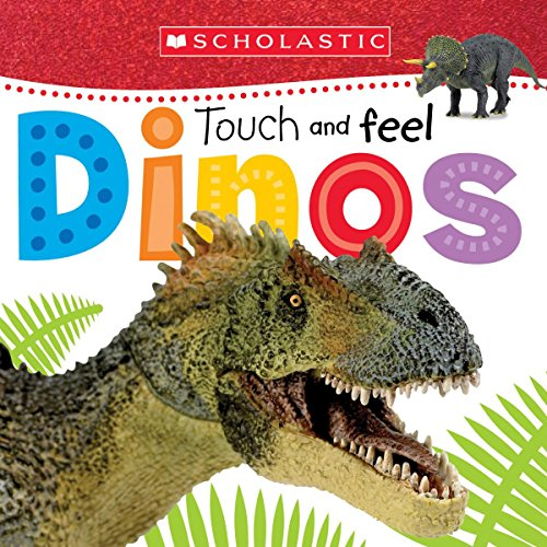 Price comparison product image Touch and Feel Dinos (Scholastic Early Learners)