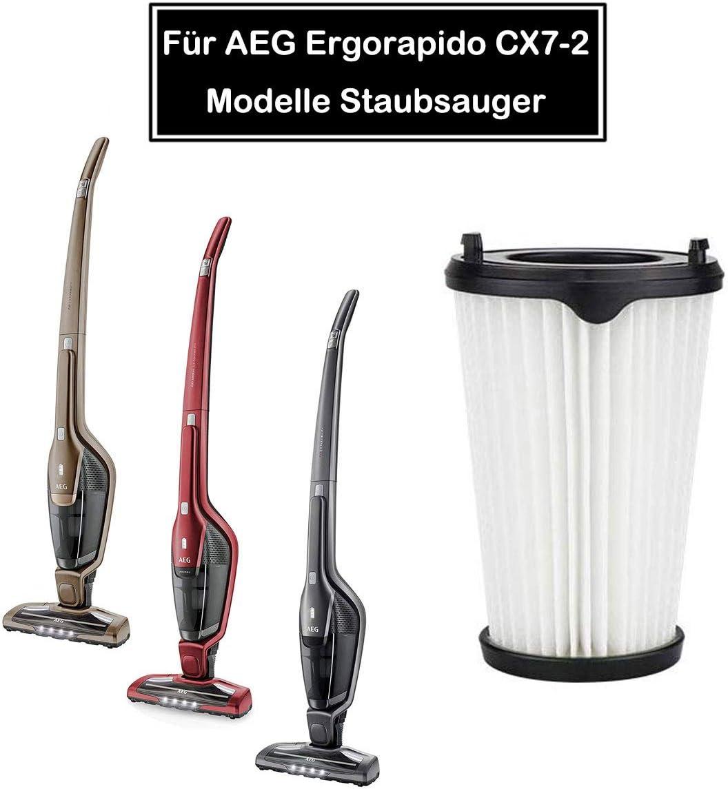 Rediboom 4 Stück Filter für AEG Ergorapido CX7 2 Staubsauger, für AEG AEF150 Austauschfilte, fit CX7 2 45AN, CX7 2 35FFP, CX7 2 30GM, CX7 2 45BM