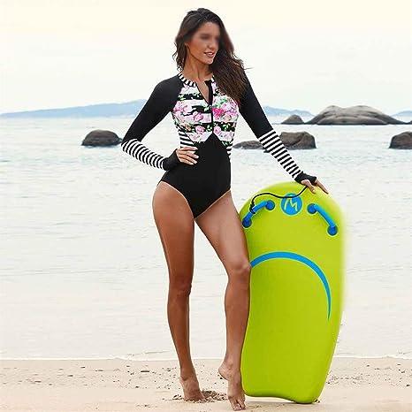 KX-YF Traje de Surf Traje de baño de una Pieza de Surf Mujer ...