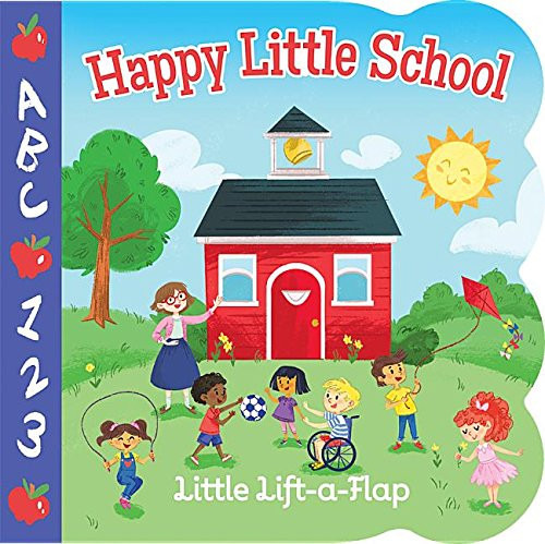 Happy Little School: Lift-a-Flap Children's Board Book (Babies Love)